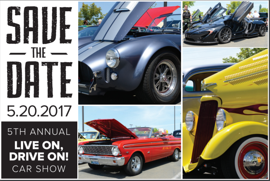 2017 Live On, Drive On! Scott Santana Memorial Car Show