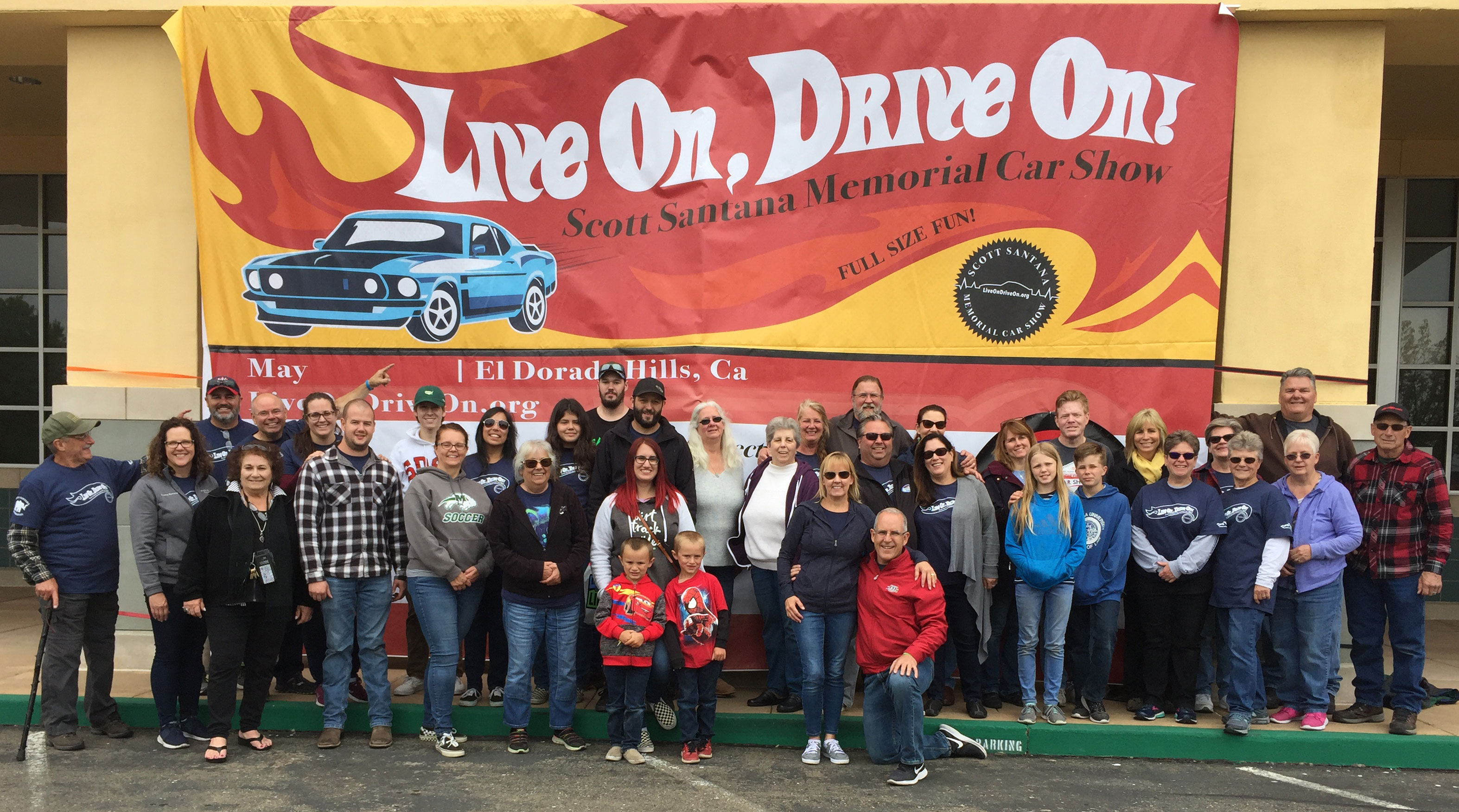 2019 Live On, Drive On! Scott Santana Memorial Car Show Family